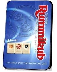 Фото Настольная игра Руммикуб (Rummikub) компактная версия в металической коробке