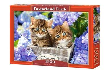 """Фото Пазл """"Два котенка"""" 1500 элементов (C-151561)"""
