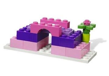 4625 Розовая коробка с кубиками Lego (конструктор Lego System) фотография 4