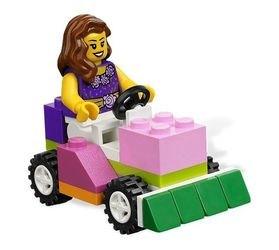4625 Розовая коробка с кубиками Lego (конструктор Lego System) фотография 5