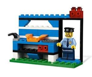 4636 Строительный набор Полиция (конструктор Lego System) фотография 5