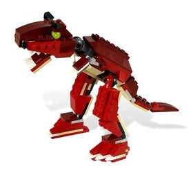 6914 Динозавр хищник (конструктор Lego Creator) фотография 1