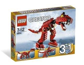 6914 Динозавр хищник (конструктор Lego Creator) фотография 2