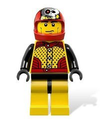 9093 Дробилка костей (конструктор Lego Racers) фотография 4