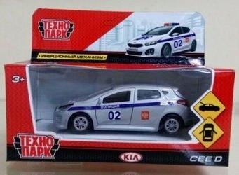 Фото Масштабная модель KIA CEED (Киа Сид) Полиция (243670)