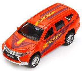 Фото Масштабная модель Митсубиси Паджеро Спорт (Mitsubishi Pajero Sport) Спортивная (243678)