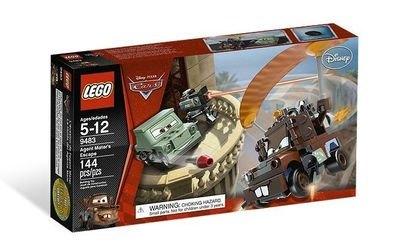 9483 Побег агента Мэтра (конструктор Lego Cars) фотография 2