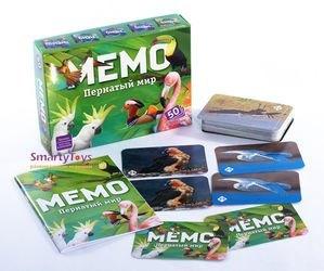 Настольная игра Мемо Пернатый мир фотография 3