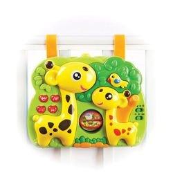 Фото Развивающая музыкальная игрушка на кроватку Жирафики с проектором (633051)