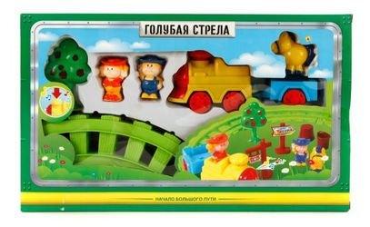 Фото Детская музыкальная железная дорога Веселый фермер (87175)