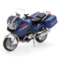 Фото Металлическая модель Мотоцикл Туризм 12,5 см озвученная, со светом (244509)