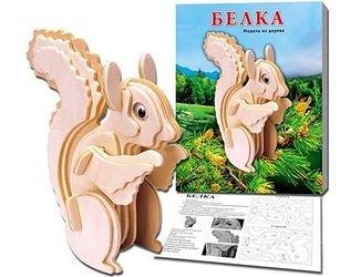 Фото Сборная деревянная модель Белка (МД-8397)