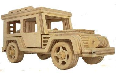 Фото Сборная деревяннаямодель Джип крытый (СДМ-07)