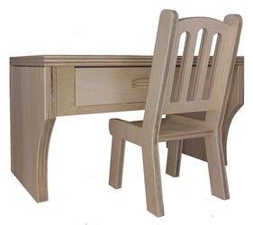 Фото Набор кукольной мебели Письменный стол (МК-021)