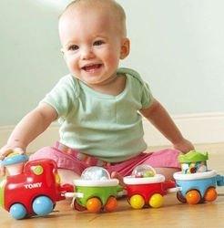 Развивающая игрушкаВеселый паровозик (70035) фотография 3