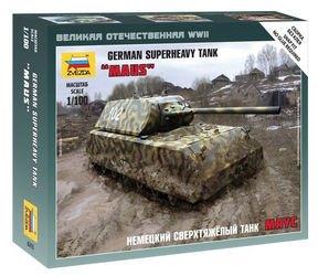 Фото Сборная модель Немецкий сверхтяжелый танк «Маус» (6213)