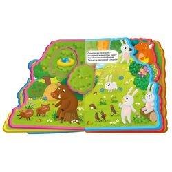 Мягкая книжка с пазлами В нашем лесу фотография 2