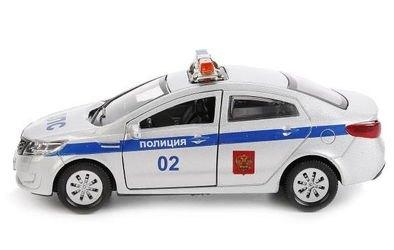 Фото Масштабная модель KIA RIO (Киа Рио) Полиция 12 см
