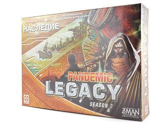 Фото Настольная игра Пандемия: Наследие 2 (жёлтая коробка)