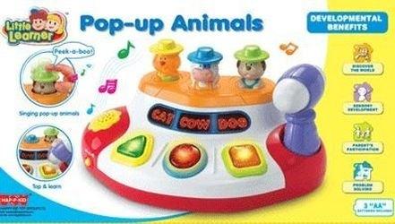 Музыкальная игрушка Pop up Animals (3894Т) фотография 2
