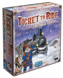"Фото Настольная игра  ""Ticket to Ride: Северные страны"" (1702)"