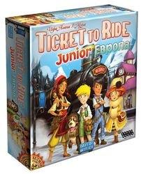 Фото Настольная игра  Билет на поезд Европа детская (Ticket to Ride Junior)
