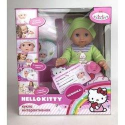 Фото Пупс интерактивный с аксессуарами пьет и писает 25 см Hello Kitty (Y25DP-787-RU-HK)