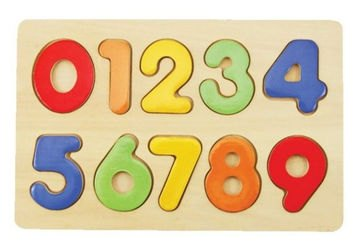 Фото Рамка-вкладыши Изучаем цифры (76686)