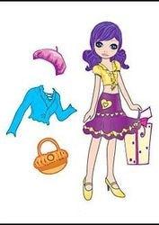 Магнитная кукла с нарядами Маруся фотография 2
