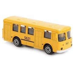 Фото Модель рейсового Автобуса металлическая 7,5 см (SB-16-88-BLC)