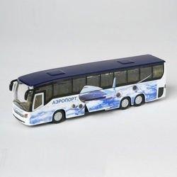 Фото Игрушка Автобус Аэропорт 16 см (СТ10-025(SВ))