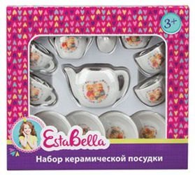 Фото Набор посуды для кукол керамический Подарочный (62149)