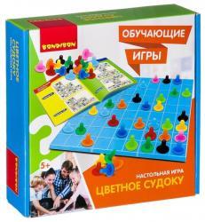 Фото Настольная игра Цветное судоку (ВВ2425)