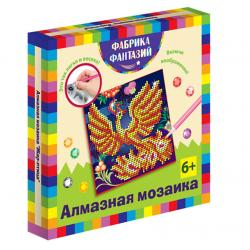 Фото Алмазная мозаика для детей Жар-птица 15х15 см (940-48554)