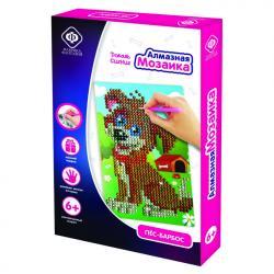 Фото Алмазная мозаика для детей Пес-барбос 10х15 см (940-59707)