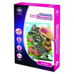 Фото Алмазная мозаика для детей Енотик 10х15 см (940-59710)