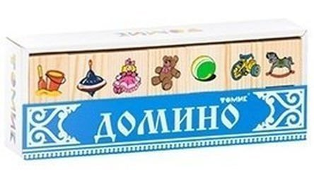 Фото Домино детское деревянное Игрушки