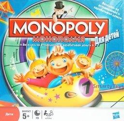 Настольная игра Монополия для детей фотография 1