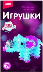 Фото Набор для плетения из бусин Цирковой слон (Бус-044)