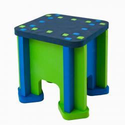 Фото Детский сборный столик из мягких модулей (КАТ-930)