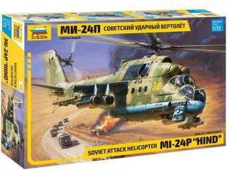 Фото Сборная модель Советский ударный вертолет Ми-24П (7315)