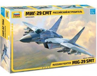 Фото Сборная модель Многоцелевой фронтовой истребитель МиГ-29 СМТ (7309)