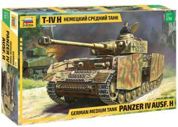 Фото Сборная модель Немецкий средний танк T-IV (H) (3620)