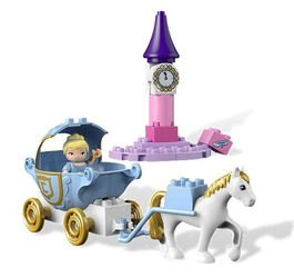 6153 Карета Золушки (конструктор Lego Duplo) фотография 3