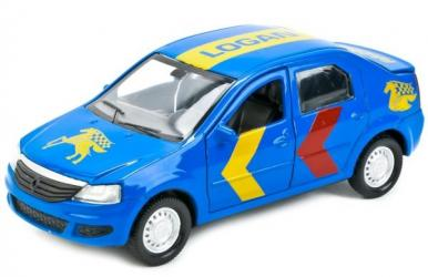 Фото Масштабная модель Рено Логан (Renault Logan) Спорт 12 см