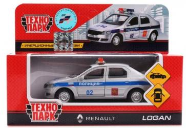 Фото Масштабная модель Рено Логан (Renault Logan) Полиция 12 см