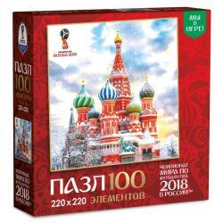 Фото Пазл ГородаЧемпионата мира по футболу 2018Москва 100 эл. (03795)