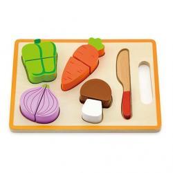 Фото Набор деревянных продуктов для резки Режем овощи (50979)