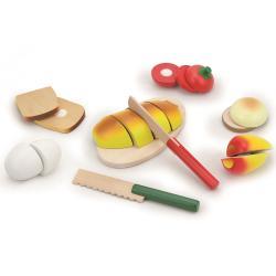 Фото Набор продуктов для резки Готовим завтрак 9 предметов в ящике (56219)