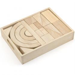 Фото Конструктор деревянный Фигуры 42 дет (59164)
